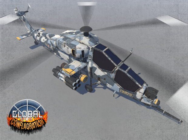 A129 Mangusta - EDU Attack helicopter (Remastered)