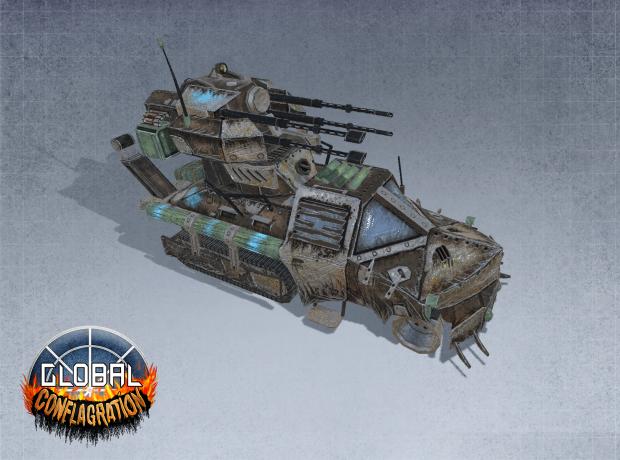 Stalker - Carpathia  Anti-Aircraft Unit