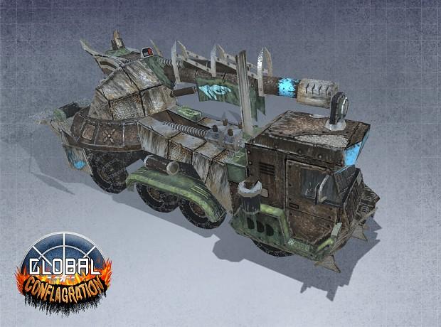 Thanatos - Carpathia  Artillery