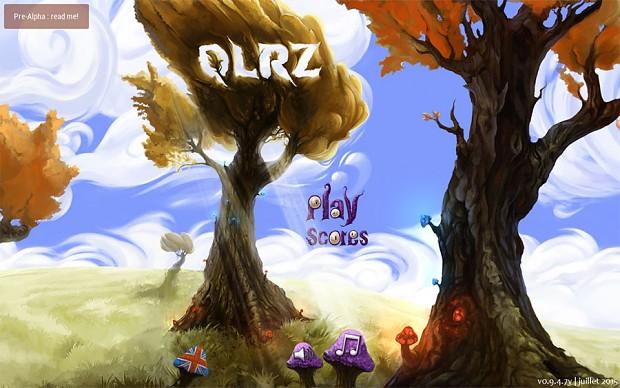 QLRZ (colors) title screen