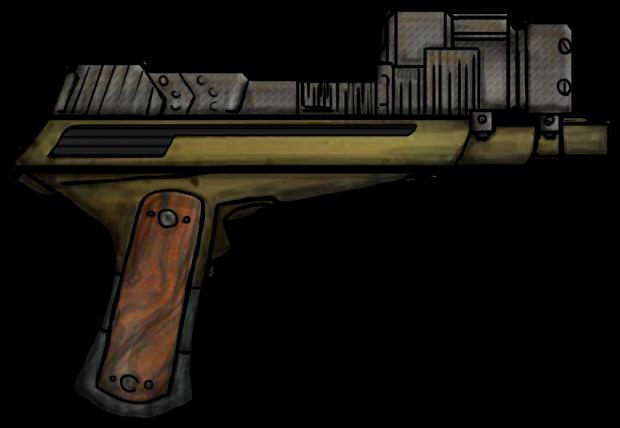 Violent Sol Worlds - Laser Pistol