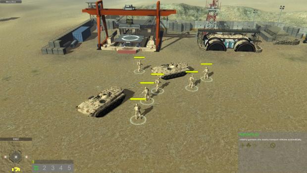 Infantry auto getin APC