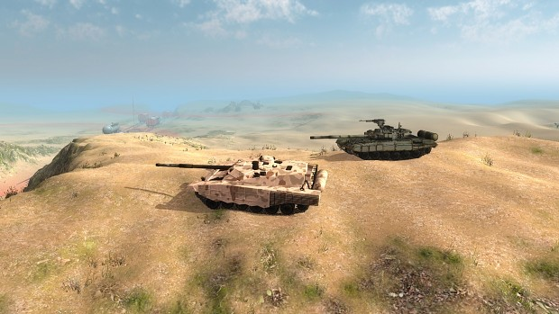T-90 and T-72