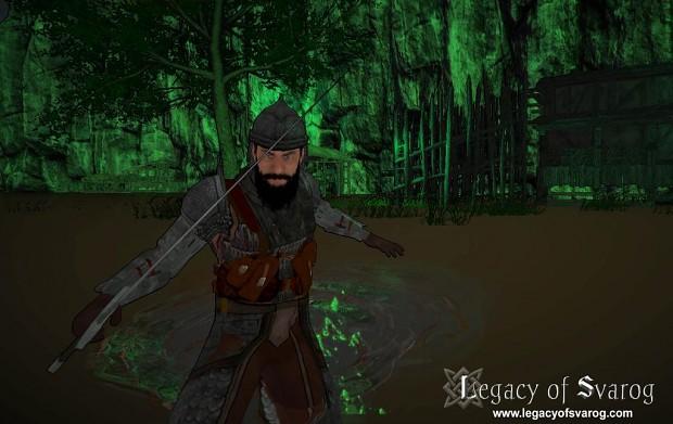 Yaroslav in new swamp area
