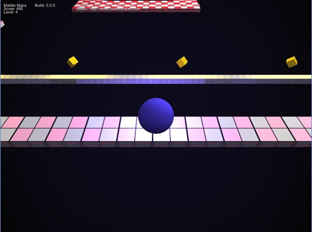 Marble Maze Version 0.2.0 Screen 2
