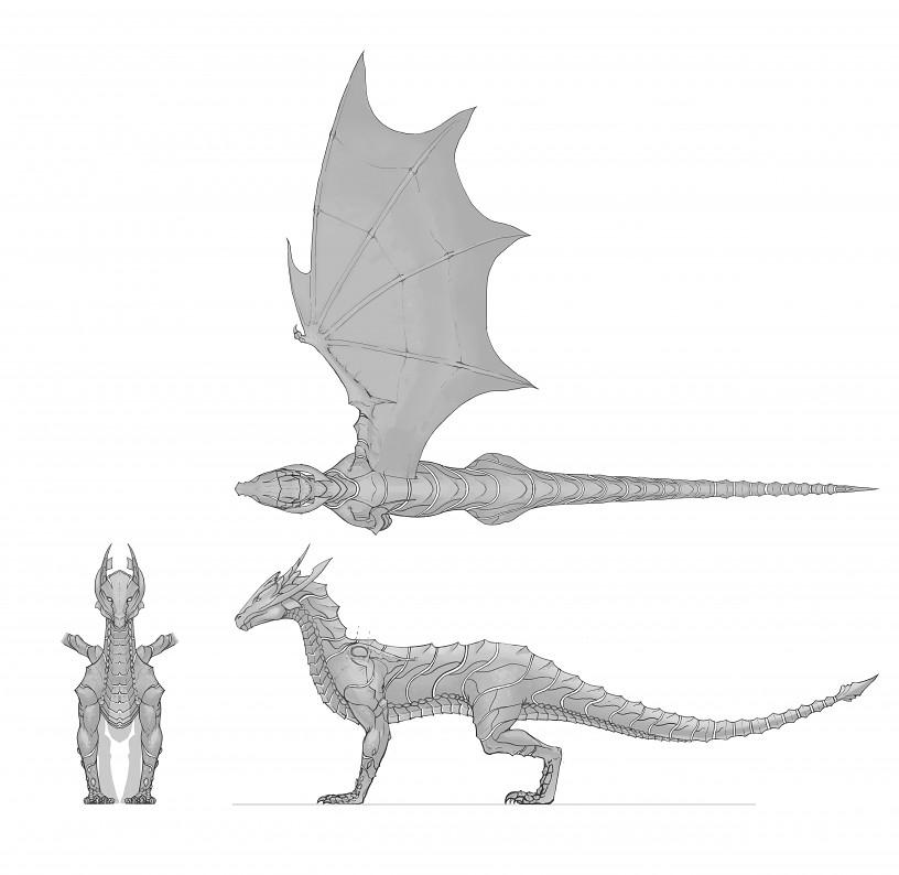 First Dragon Concept Art