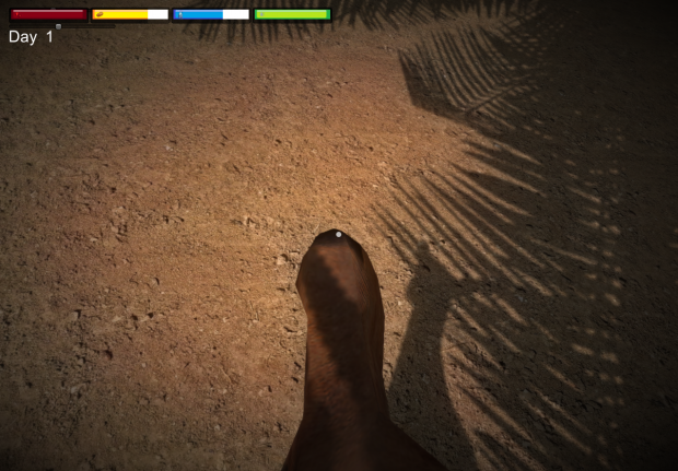 Development Spoiler 13# Save System and First Person Animal Survival
