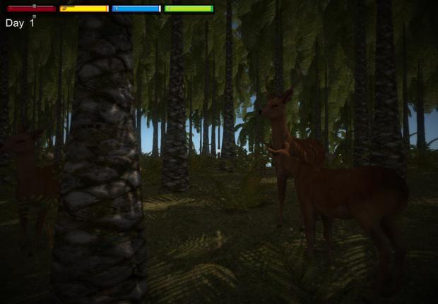 Deer Animals Survival