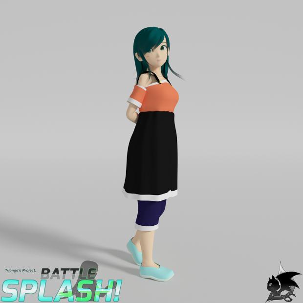 Character - Temiko Battle Splash