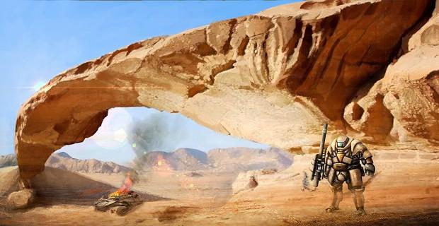 desert mountain Gron 5