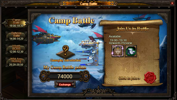 Camp Battle 1