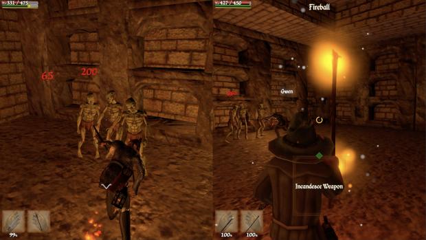 TAR Battling Magic Catacombs