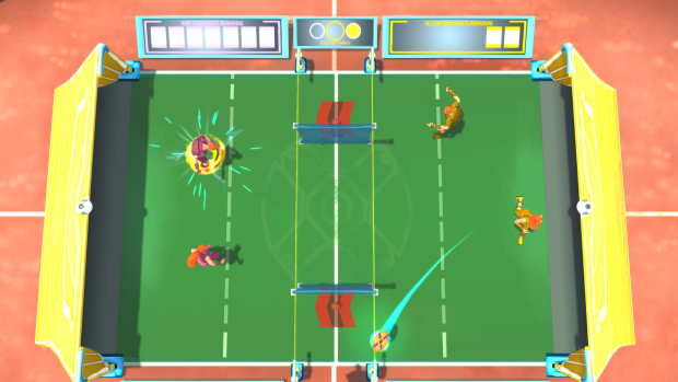 Gyrodisc Super League Doubles Gameplay