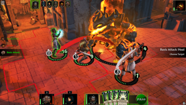 Attacking Fireheart