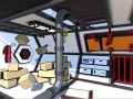 Space station level - opening airlock