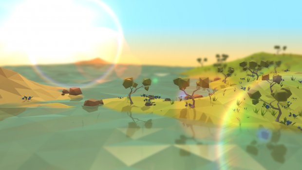 Low-Poly Sunset