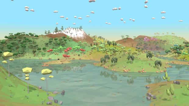 Screenshots of Equilinox