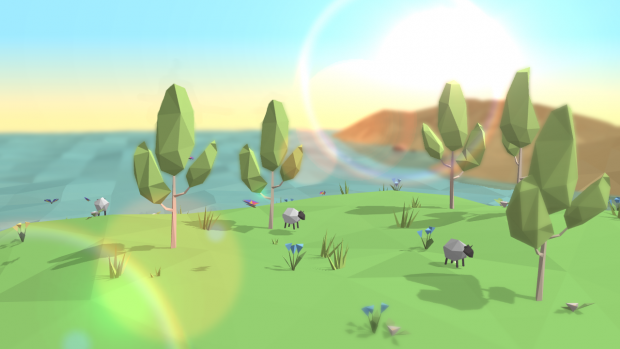 Low-poly Sheep!