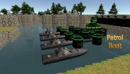 Dock with Patrol Boats 4