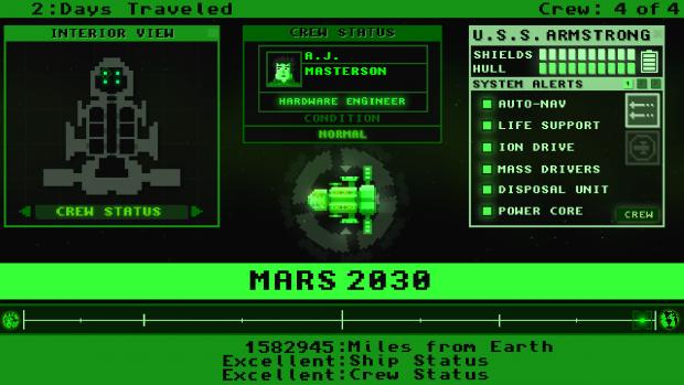 Mars 2030 - Updated GUI (1.2)