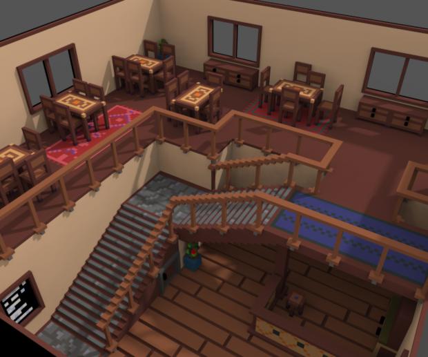 Reworking the Tavern! WIP