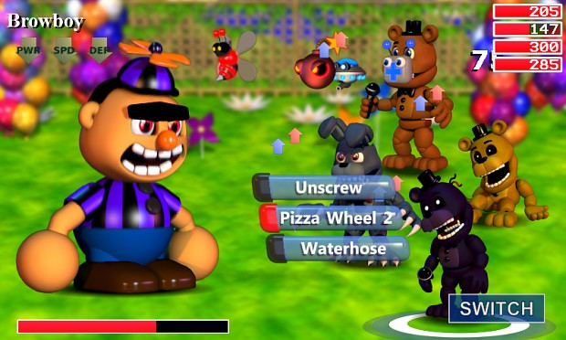 Carnival Trouble 2 Image Fnaf World Indie Db