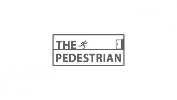 The Pedestrian Logo