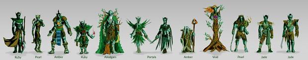 Elf Pieces Concepts