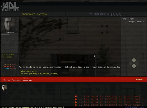 ADL Engine - Text Adventure - Multiplayer Game Dev