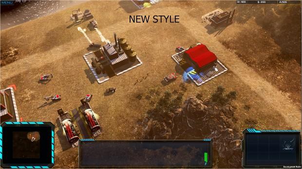 New graphics style
