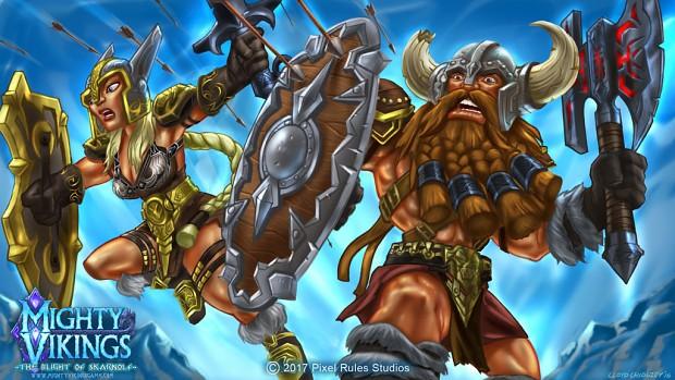 Mighty Vikings Warriors