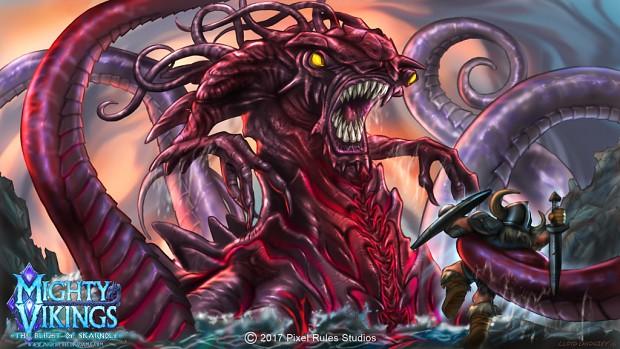 Mighty Vikings Kraken
