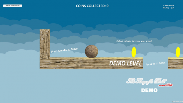 The Story of a Ball, named Ball - DEMO Snapshots