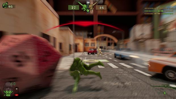 The Mean Greens - Screenshots