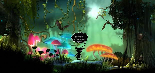 Screenshot colormode