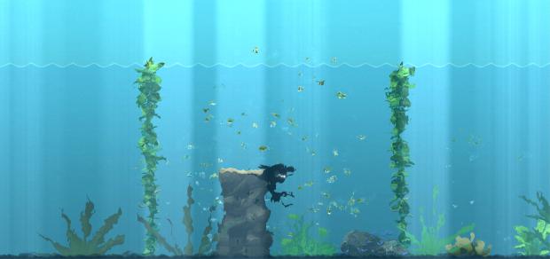 Deep Rest Underwater Test