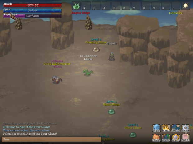 Age of the Four Clans Screenshot