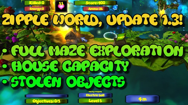 Zipple World version 1.3