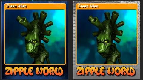 Zipple World cards