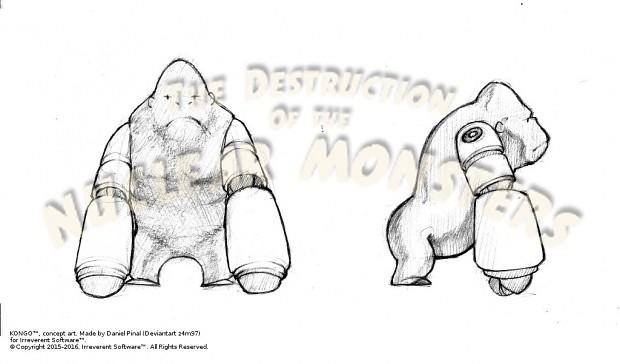 Kongo Concept Art