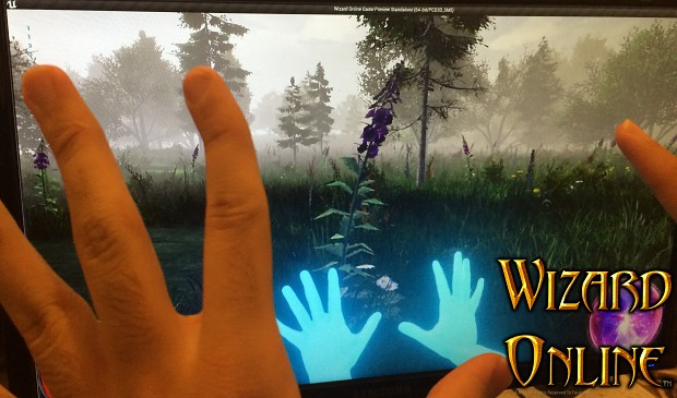 Wizard Online Virtual-Reality Open-World Game