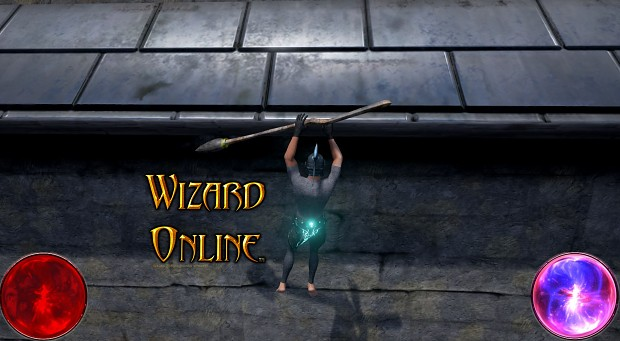 Moving on ledge Wizard Online