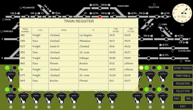 Train Register