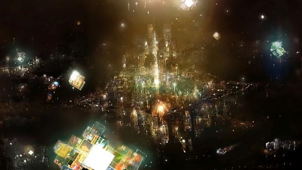 Rez Infinite Area X Concept Art