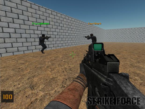 Strike Force Tutorial Map 2