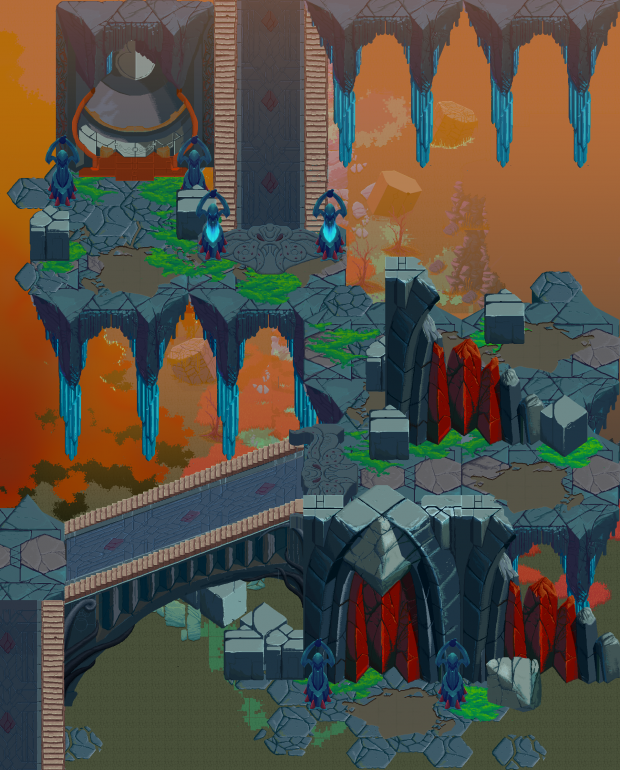 New level editor and art