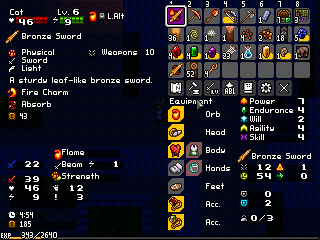 Implementing the ability to imbue weapons with additional effects