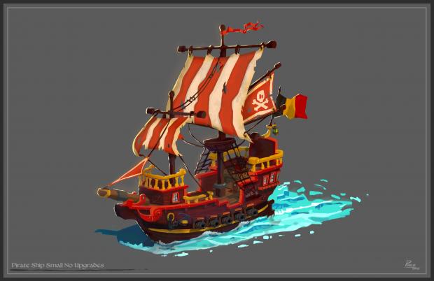 Ship Concept Art
