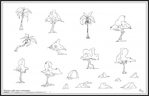 PlantsRocks Sketches 1