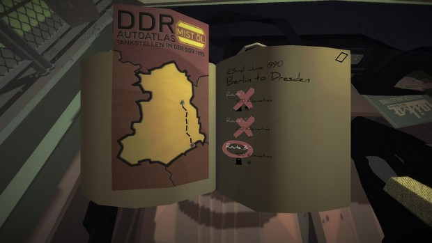 Selecting a route to Dresden